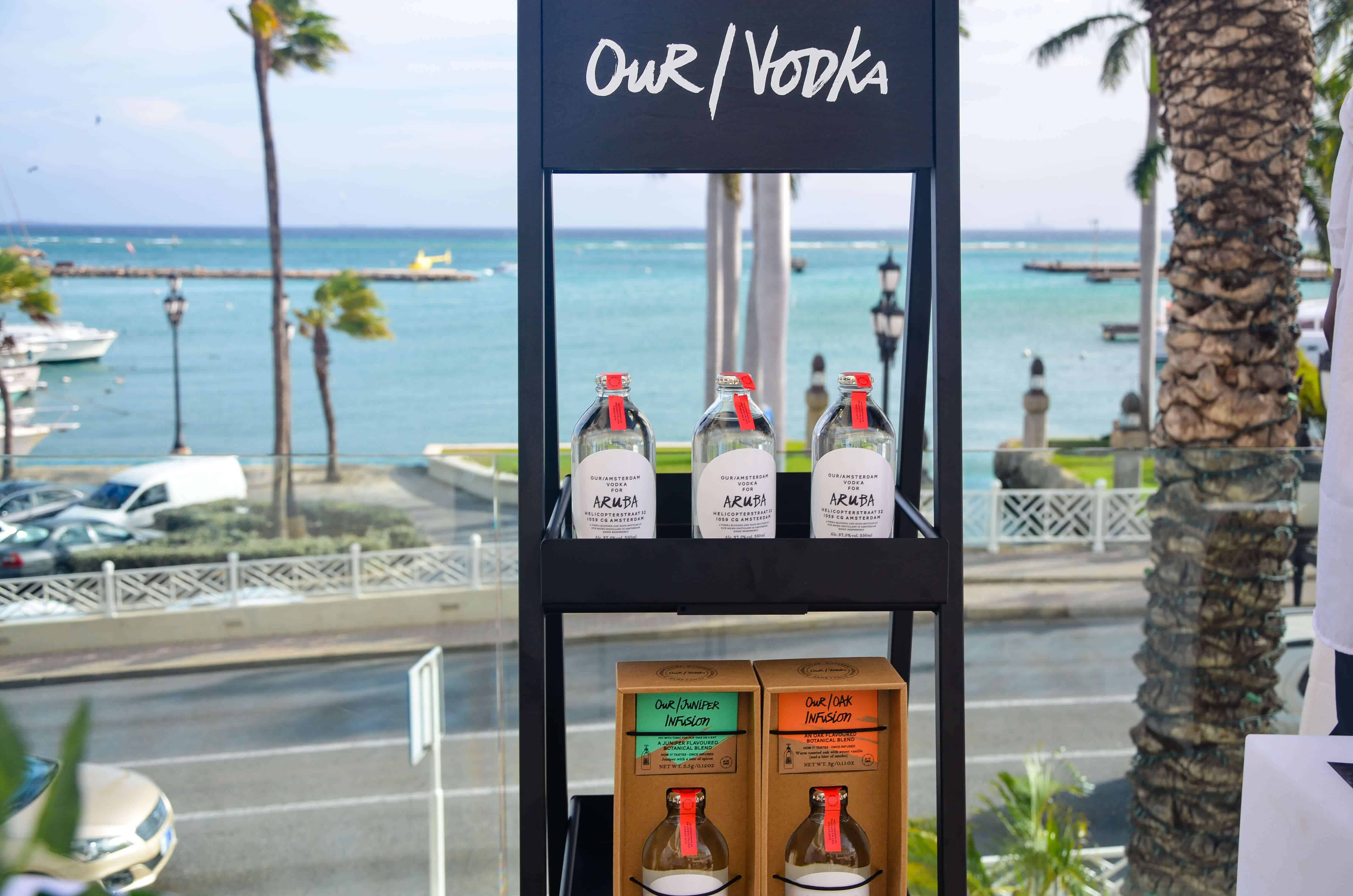 Where can you buy Our vodka Aruba ?