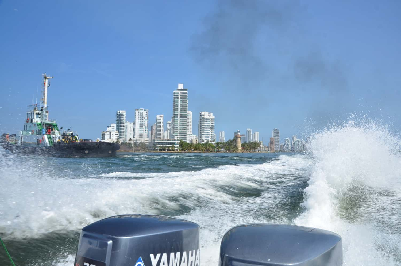 Isla Bela Boat trip cartagena Fendaux