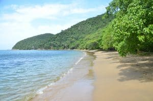 playa chrystal santa marta