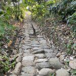 Minca archeological steps